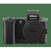 Nikon 1 Black V2 Digital SLR Camera with 14.2 Megapixels (Body Only)