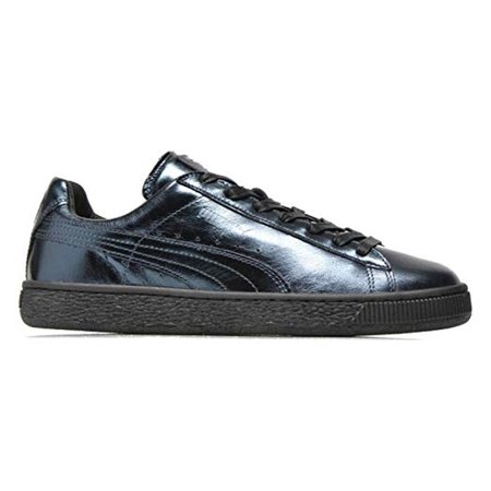 new styles fd710 11078 PUMA Basket Creepers Metallic Indigo/Indigo/Black