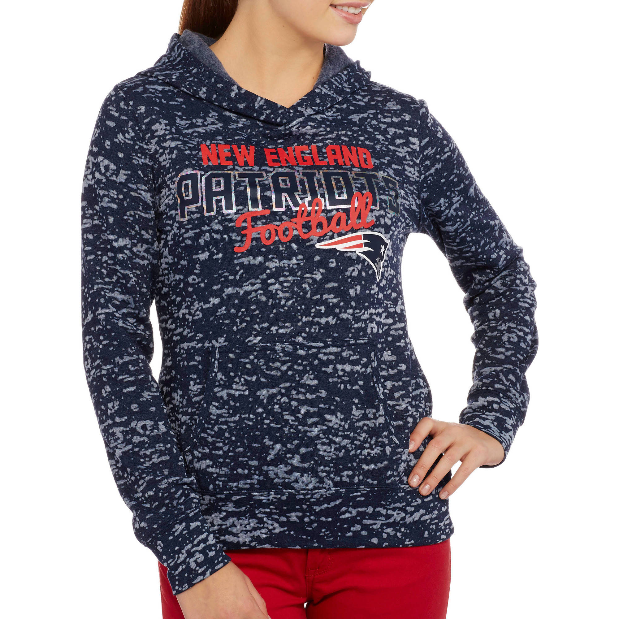 NFL Juniors Patriots Fleece Hoodie