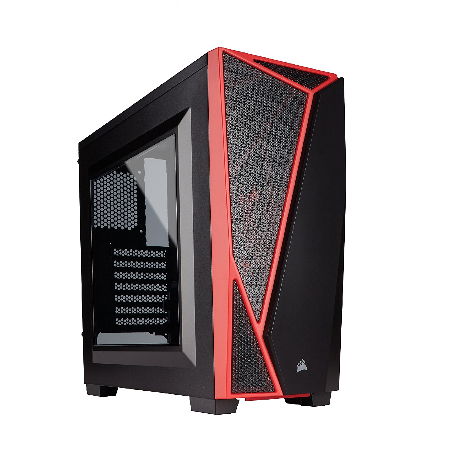 CORSAIR Carbide SPEC-04 Mid-Tower Gaming Case - Black and Red - CC-9011107-WW
