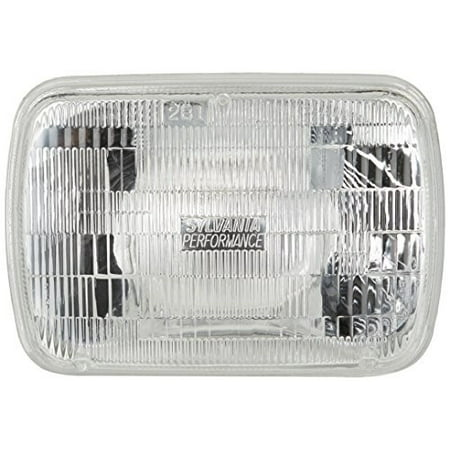 SYLVANIA H6054 SilverStar High Performance Halogen Sealed Beam Headlight 142x200