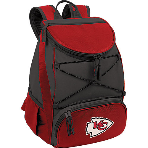 NFL Backpack Cooler by Picnic Time - PTX, Kansas City Chiefs - Red