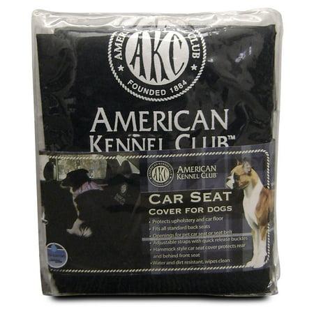 599f18c2 American Kennel Club Backseat Car Cover, Black - Walmart.com