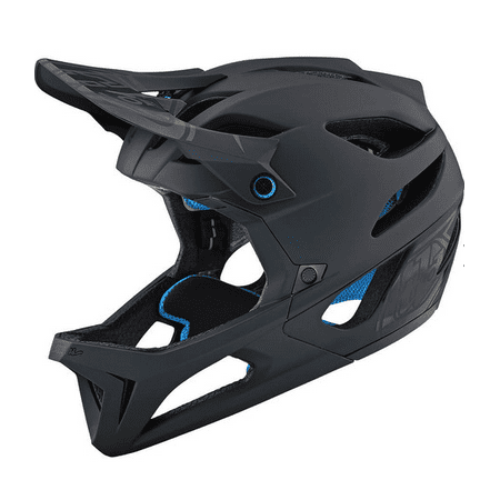 Troy Lee Designs Mountain Bike Stage Mips Helmet; Stealth Black Size XS/SM