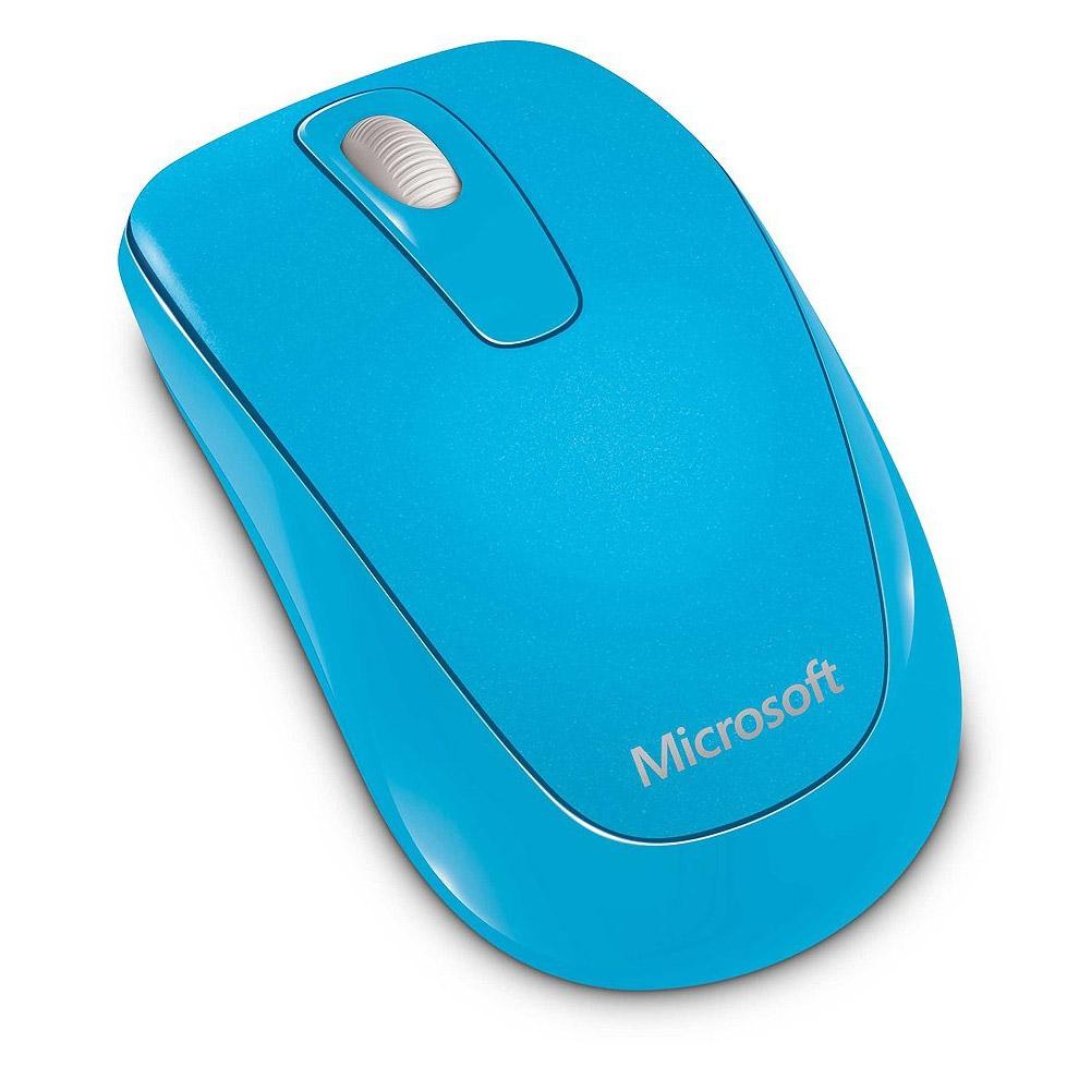 Microsoft Wireless Mobile Mouse 1000 - Cyan Blue