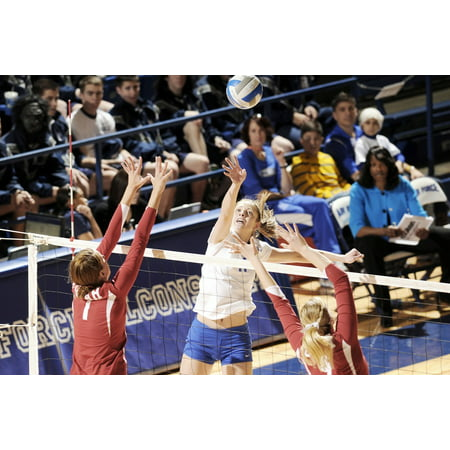 LAMINATED POSTER Teams Game Sports Net Players Volleyball Poster Print 11 x - Net Player