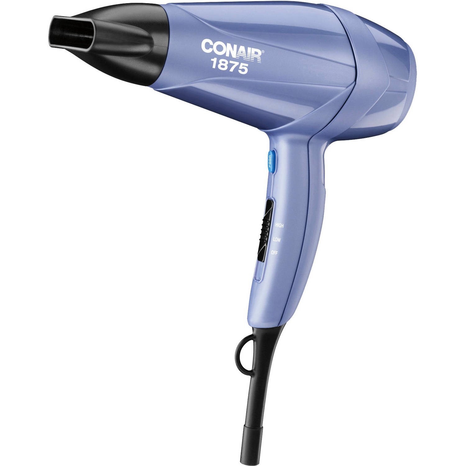 conair blow dryer conair 1875 watt mid size styler hair dryer walmart 12172