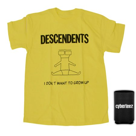 descendents i dont want to grow up yellow t shirt coolie - Descendents Christmas Sweater