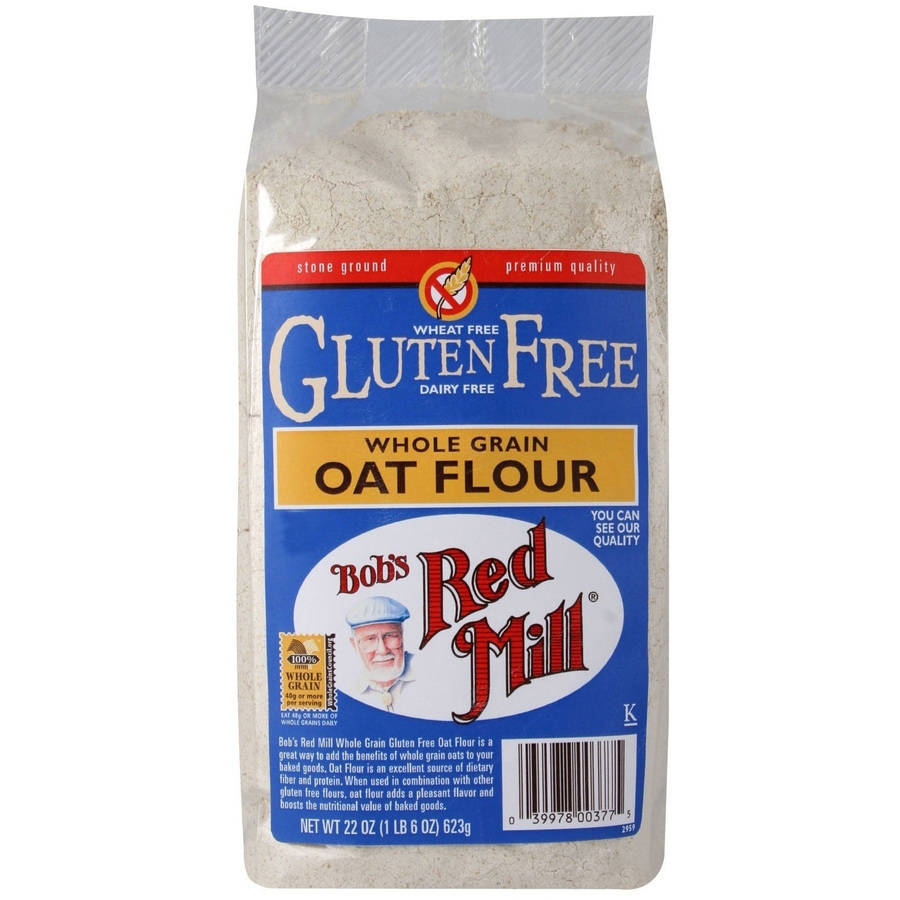 Bob's Red Mill Whole Grain Gluten-Free Oat Flour, 22 oz (Pack of 4)