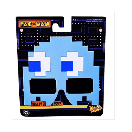 Party Costumes - Sun-Staches - Pac-Man - Blue Inky New SG2487 (Pegman Halloween)