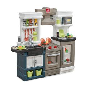 Step2 Elegant Edge Kitchen Large Kitchen Play Set Walmart Com Walmart Com