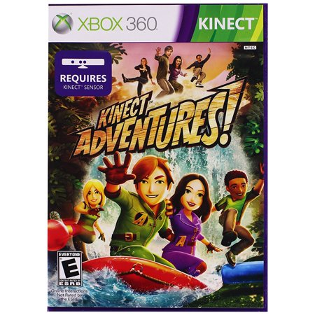 Xbox 360 - Kinect Adventures (Workout Games For Xbox 360 Kinect)