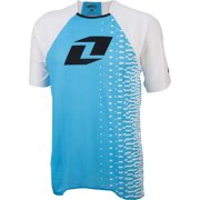 One Industries Vapor Short Sleeve Jersey: Blue/White LG