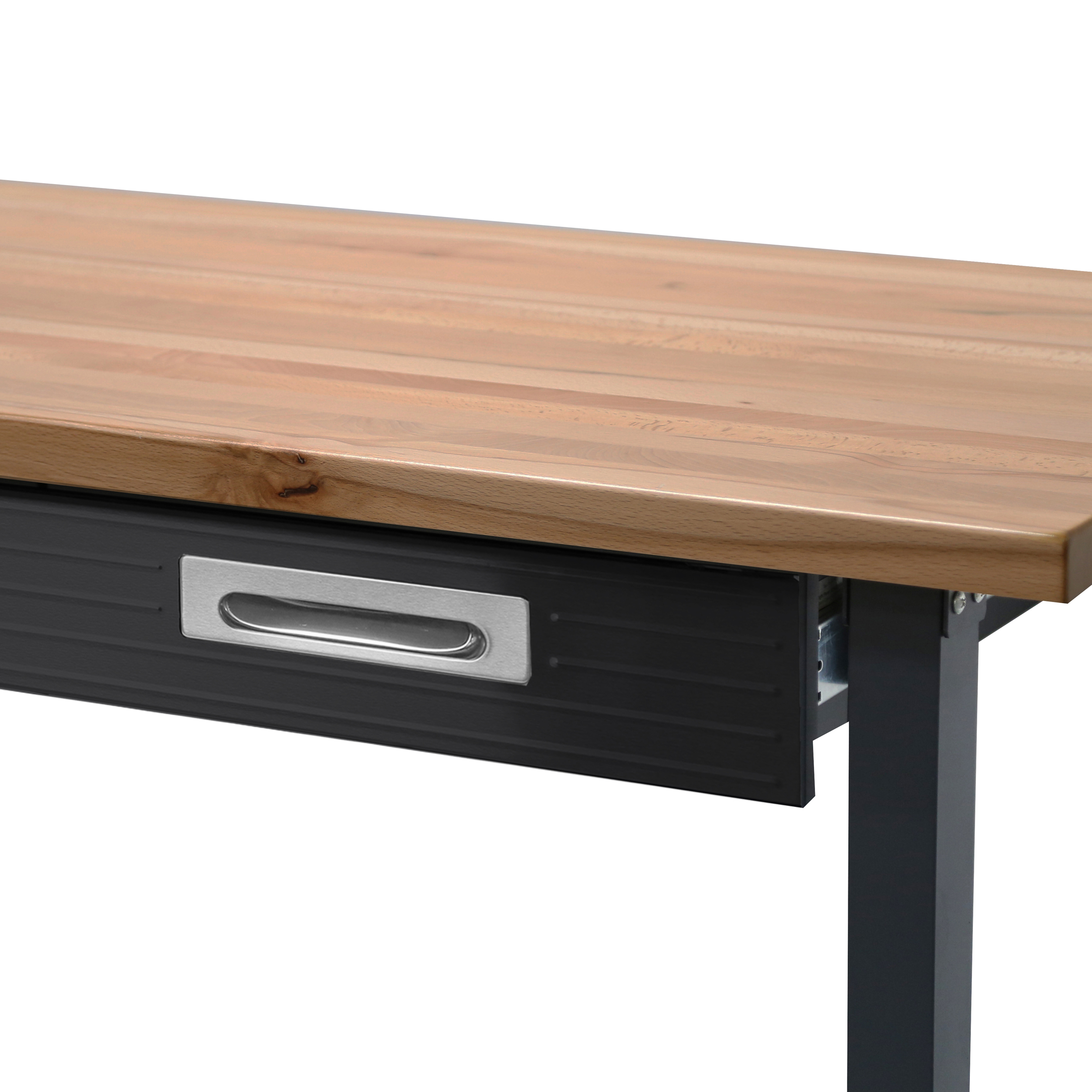 commercial heavy-duty wood top workbench with drawer on wheelsseville  classics