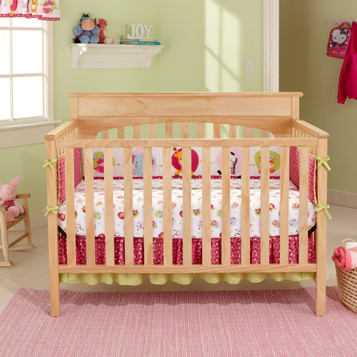 Graco - Lauren 4-in-1 Convertible Classic Crib, Natural