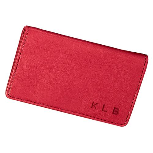 Royce Leather Tri-View ID Holder Card Case Wallet in Genuine Leather