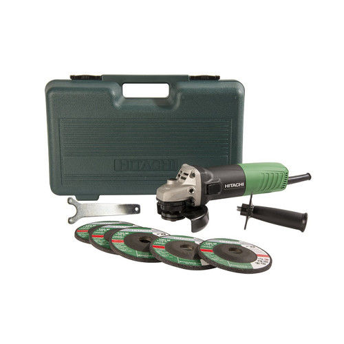 Hitachi G12SR4 6.2 Amp 4-1 2 in. Angle Grinder by Hitachi Power Tools
