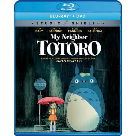 My Neighbor Totoro (Blu-ray + DVD) (My Neighbor Totoro Blu Ray)