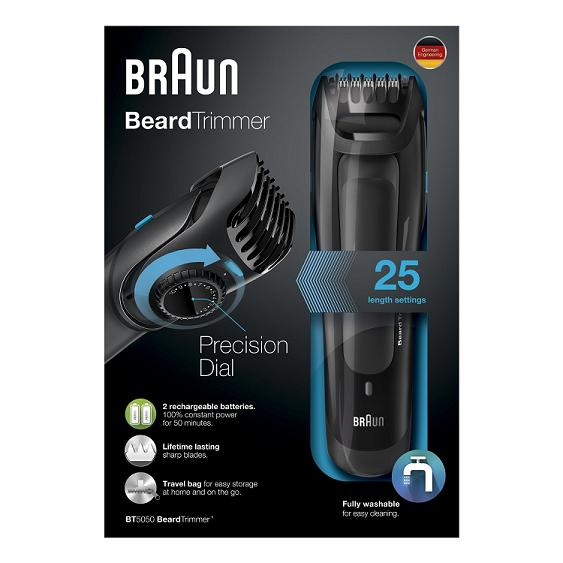 Braun bt5050 precision dial beard trimmer walmart com