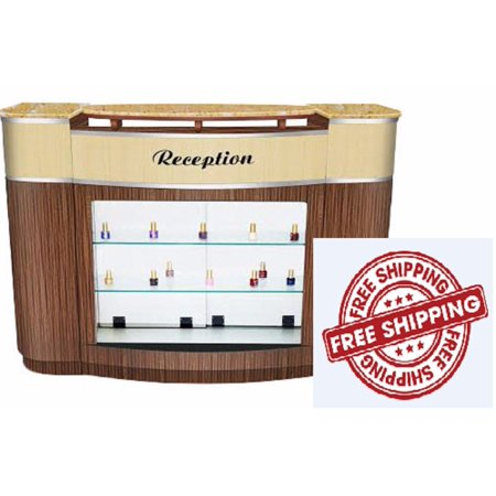 Reception Desk Verona II for Nail, Beauty, Barber or Styling Salon Furniture