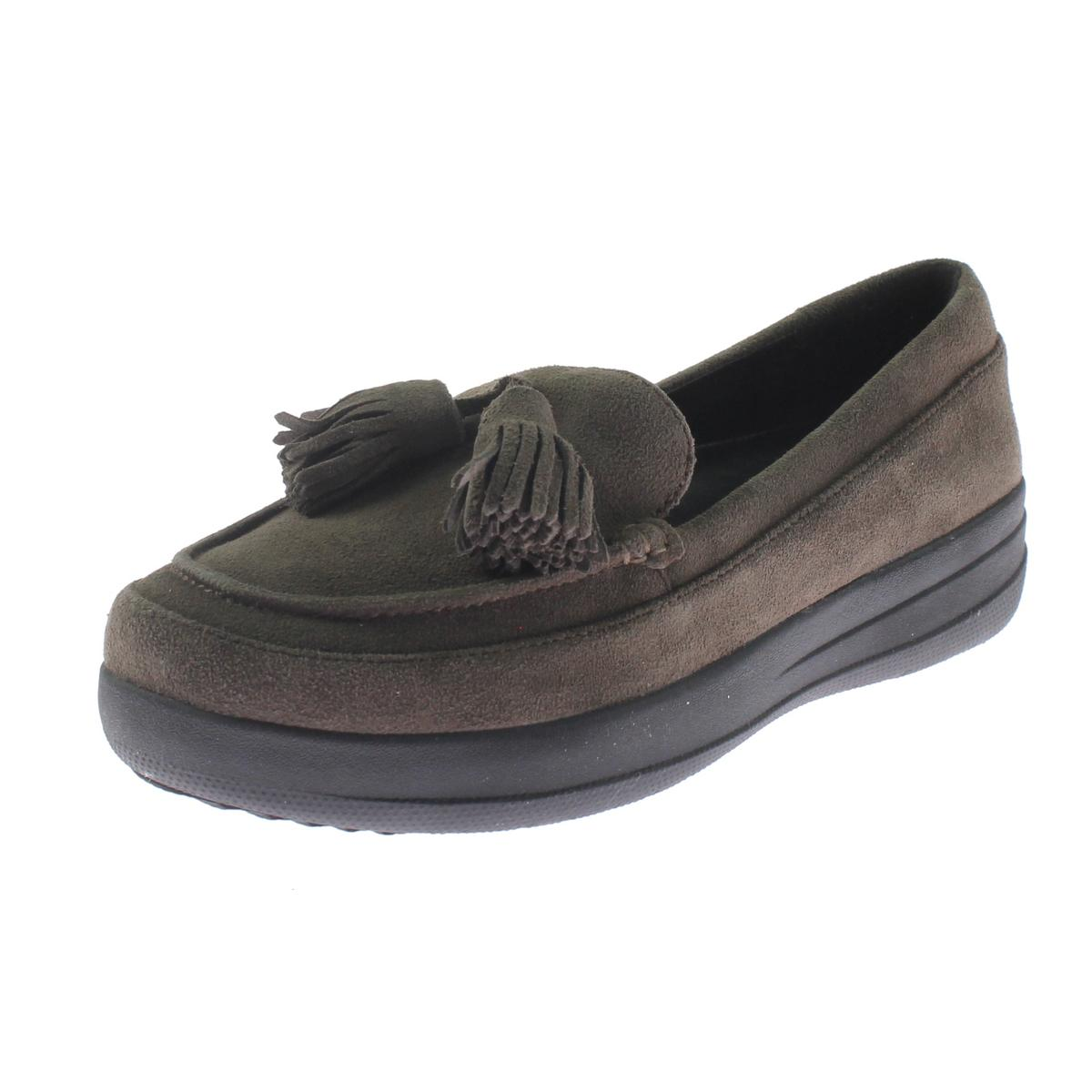 Fitflop Womens Suede Tassel Fashion Loafers
