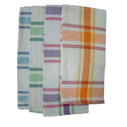 Textiles Plus Inc. Waffle Weave Kitchen Towel (Set of 4) by Textiles Plus Inc.