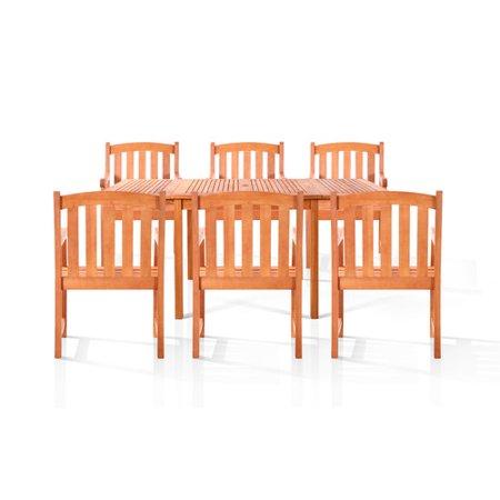 vifah sydney 7 piece dining set