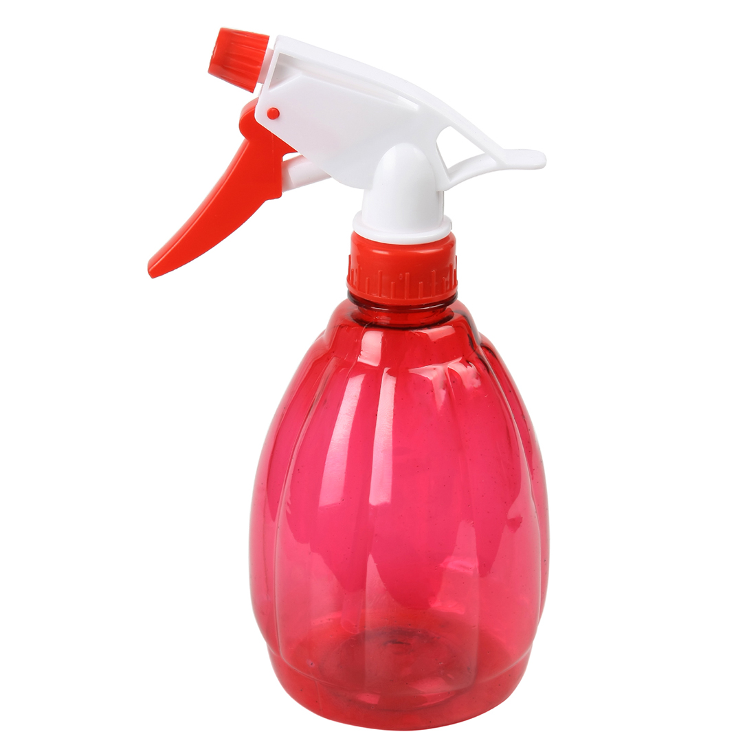 Unique Bargains Plastic Refillable Flower Plant Spray Bottle Water Sprayer Red