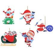 MEGAWHEELS Christmas Ornaments 2021 Unique Hanging Pendant for Gift Decor