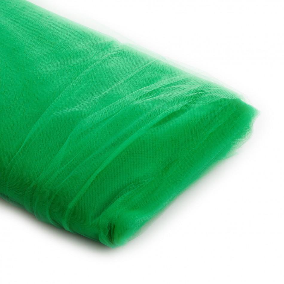 Koyal Wholesale 40-Yard Tulle Bolt, 54-Inch, Emerald Kelly Green
