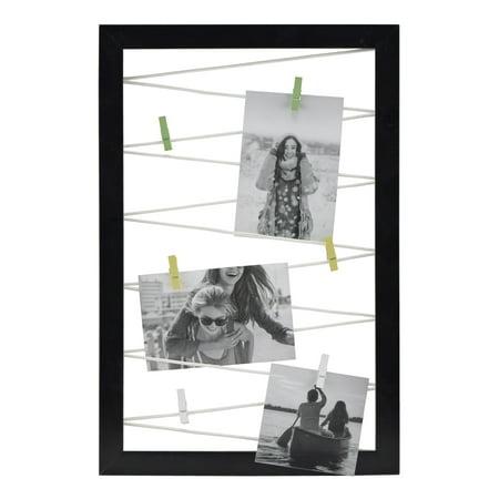 Halloween Display Board Ideas (Mainstays 12x18 Black Clothespin Photo Display)