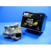 MF CICHLID STONE Ceramic Aquarium Rock Cave Decor F923C by Aquarium Supplies