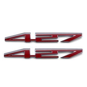 C6 Corvette 2005-2013 427 Script Hood Emblem (Custom C6 Corvettes)