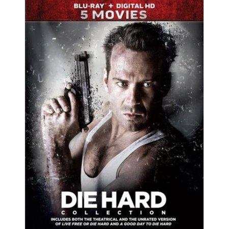 Die Hard 5 Movie Collection  Blu Ray