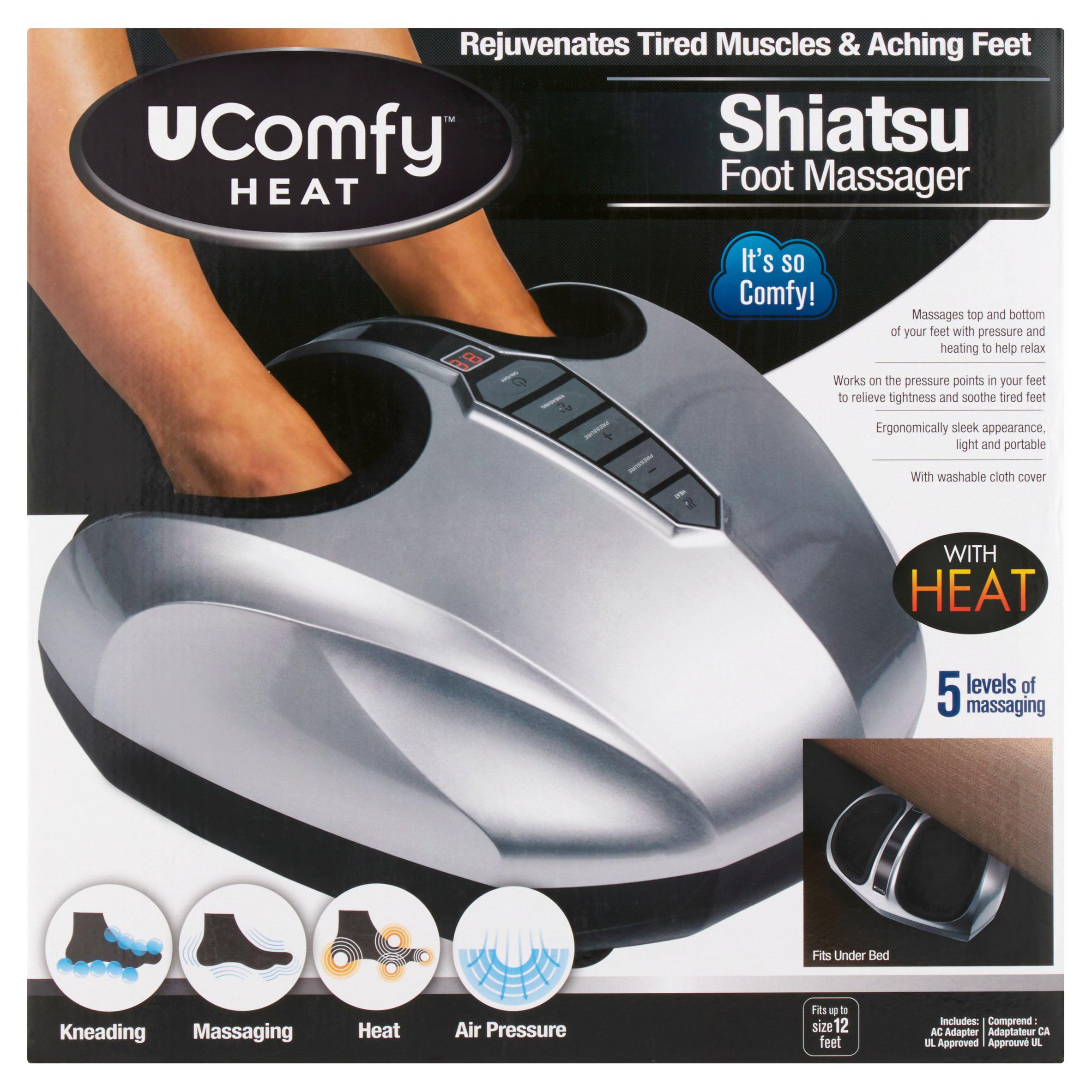 U Comfy Shiatsu Foot Massager with Heat