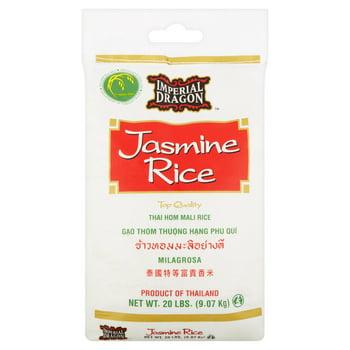 Imperial Dragon Jasmine Rice, 20 lbs