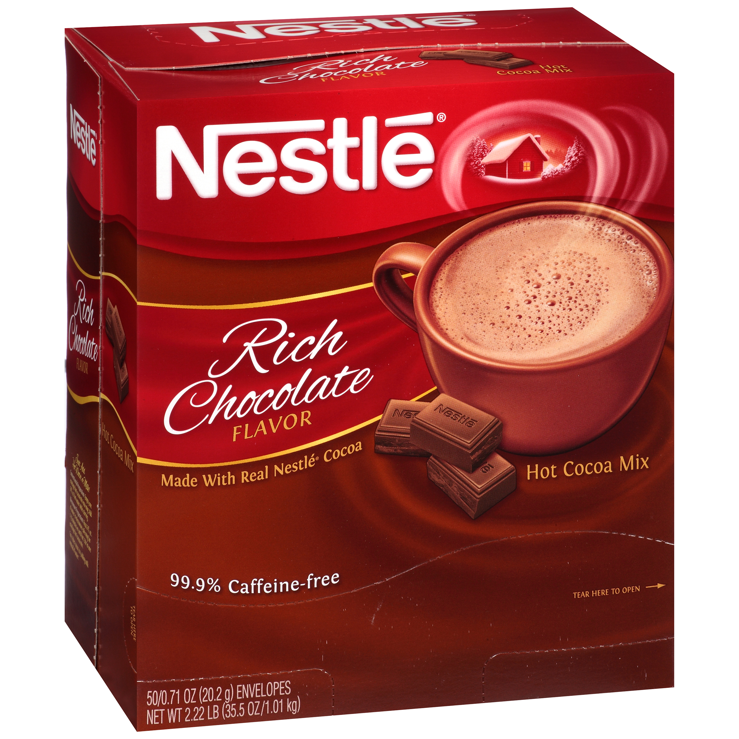 Nestl�� Rich Chocolate Hot Cocoa Mix 50-0.71 oz. Packets