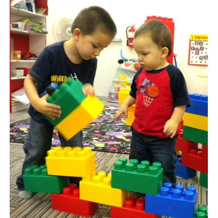JUMBO BUILDING BLOCK SET 24 PIECES - Jumbo Building Blocks