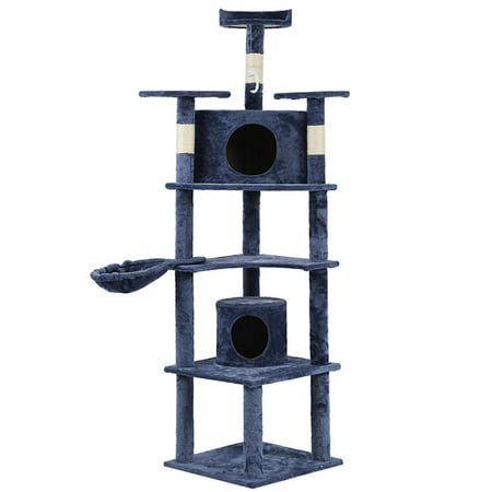 Bestpet Cat Tree & Condo Scratching Post Tower