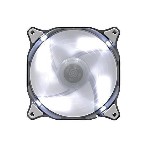 Compucase Enterprises 180689 Compucase Fan Cfd12hbw Cougar 12cm Hydraulic Led 1200rpm White Retail