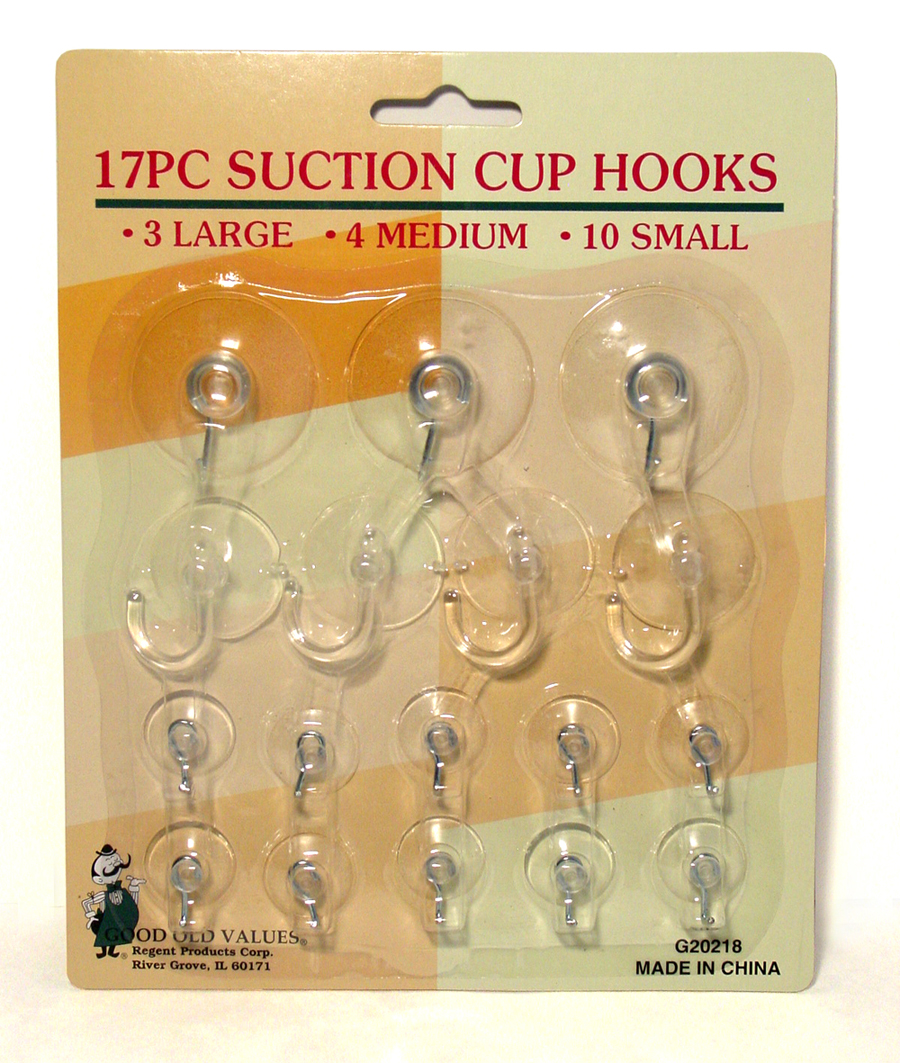 5PCS  Glass Window Wall Hook Hanger Kitchen Strong Suction Cup Suckers