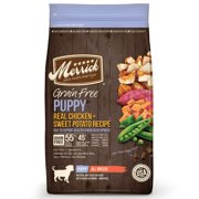 Merrick Grain Free Puppy Recipe Dry Dog Food 25-Pound