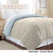 Amrapur Overseas Inc All Season Reversible Down Alternative Microfiber Comforter