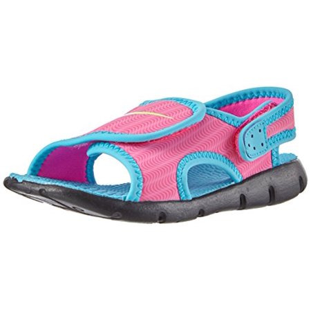 46bd999c81f2 Nike - Nike Sunray Adjustable 4 (TD) Toddler Girls  Sandal - Walmart.com