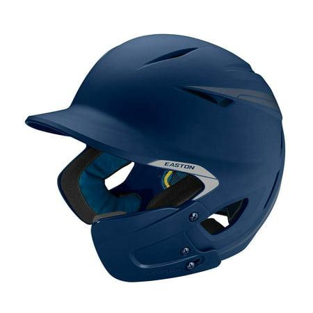 Easton Pro-X Matte Baseball Helmet with Jaw Guard. Junior. Navy