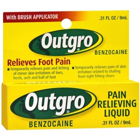 Outgro Pain Relieving Liquid 0.31 oz (Pack of 2)