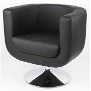 Bliss Swivel Chair in Black