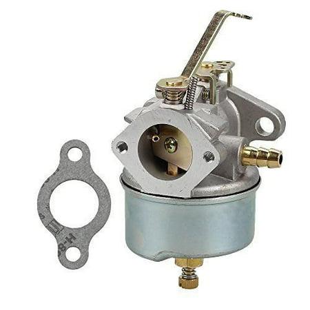 Lumix GC Gasket Carburetor For John Deere 624 Tiller Tecumseh H60 6HP Motor