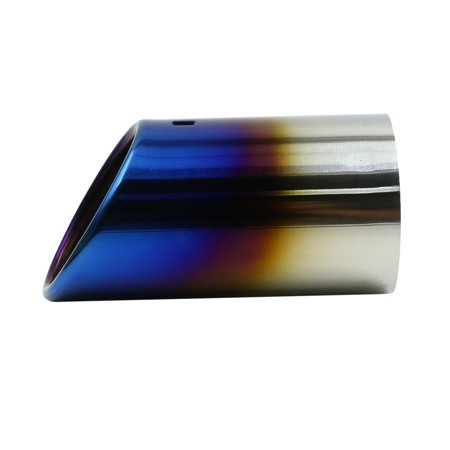 """Stainless Steel Auto Car Exhaust Muffler Tip Fits for 1.85"""" to 2.5"""" Pipe Dia - image 2 of 3"""