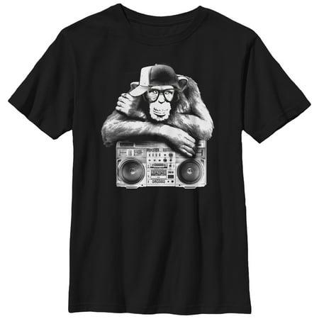 Boys' Boombox Chimp T-Shirt](Children's Boombox)